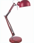 Lite Source Desk Task Lamp Metallic Red Lamp Sympa LS-21509M-RED