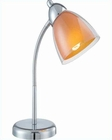 Lite Source Desk Task Lamp Orange Selika LS-21614C-ORN