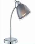 Lite Source Desk Task Lamp Smoke Selika LS-21614C-SMOKE