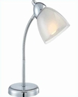 Lite Source Desk Task Lamp Wht. Selika LS-21614C-WHT