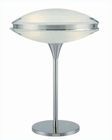 Lite Source Dome Table Lamp with PS Frost Glass Shade LS-2225PS-FRO