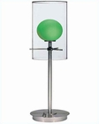 Double Glass table lamp PS Light Greenner Glass LS-2149PS-L-GRN