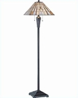 Lite Source Floor Lamp in Dark Bronze Sachet LS-81238