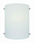 Lite Source Fluorescent Wall Sconce w/ Frost Glass Shade LS-16298FRO