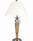 Lite Source Ides Rattan Table Lamp PS Nature w/ LS-2511PS-NAT