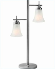 Lite Source in 2 Lite Bendek Table Lamp LS-20940SS-FRO