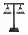 Lite Source in 2 Lite Tiffany Ithaca Table Lamp LS-3580