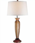 Lite Source in 2 Tone Amber & CLR Table Lamp LS-20794
