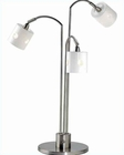 Lite Source in 3 Lite Eyelet Table Lamp LS-2059PS/FRO