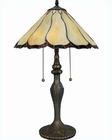 Lite Source in Ant. Brass Caspian Table Lamp LS-CF41234