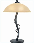 Lite Source in Ant. Gold Bronze Wavia Table Lamp LS-21571