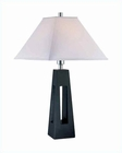 Lite Source in Black Wood Body Table Lamp LS-21576