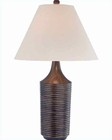 Lite Source in Brushed Bronze Parson Table Lamp LS-21367