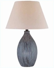 Lite Source in Brushed Ceramic Body Pomona Table Lamp LS-21374
