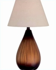 Lite Source Brushed Ceramic Body Preston Table Lamp LS-21373