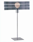 Lite Source in Brushed Chrome Table Lamp LS-21002