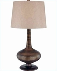 Lite Source in Brushed Gold Bronze Morton Table Lamp LS-21368