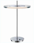 Lite Source in Chrome Clear Acrylic Shade Led Table Lamp LS-22080