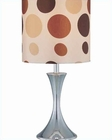 Lite Source in Chrome Colored Regina Table Lamp LS-21400
