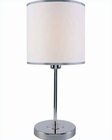 Lite Source in Chrome Fayola Table Lamp LS-21260C-WHT