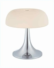 Lite Source in Chrome Frost Glass Shade Table Lamp LS-21656C-FRO