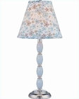 Lite Source in Chrome Gracie Table Lamp LS-IK-6085BLU