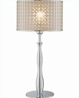 Lite Source in Chrome Optiska Table Lamp LS-21305C-OPT