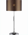 Lite Source in Chrome Pvc Shade with Adjustable Table Lamp LS-21810