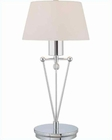 Lite Source in Chrome Tiziano Table Lamp LS-21049C-FRO
