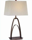 Lite Source in Copper Bronze Circca Table Lamp LS-21547