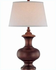 Lite Source in Copper Bronze Prentice Table Lamp LS-21545