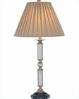 Lite Source in Crystal Body Luciento Table Lamp LS-EL-30003