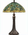 Lite Source in Dark Bronze Peacock Table Lamp LS-C4865