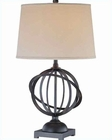 Lite Source in Dark Bronze Sphere Table Lamp LS-21350