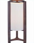 Lite Source in Dark Cherry Wood Table Lamp LS-20157