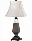 Lite Source in Dark Walnut Turner Table Lamp LS-21061