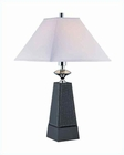 Lite Source in Faux Leather Body Table Lamp LS-21575