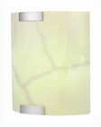 Lite Source in Fluorescent Wall Sconce PS with Glass Shade LS-1628