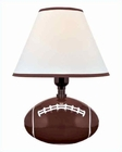 Lite Source in Football Ceramic Body Table Lamp LS-IK-6100
