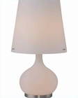 Lite Source in Frost Glass Body Table Lamp LS-20999FRO-FRO