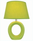 Lite Source in Green Ceramic Body Table Lamp LS-20585GRN