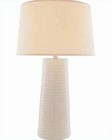 Lite Source in Ivory with Fabric Shade Table Lamp LS-20830IVY