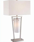 Lite Source in Night Light Effie Table Lamp LS-20760PS/WHT