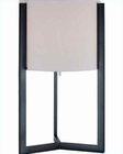 Lite Source in OFF Wht. Shade Table Lamp LS-21198