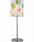 Lite Source in Printed Vinyl Shade Table Lamp LS-21272