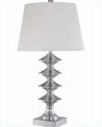 Lite Source in PS Francesca Table Lamp LS-21140PS-WHT