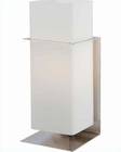 Lite Source in PS Frosted Glass Shade Accent Table Lamp LS-21720PS-FRO
