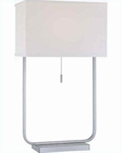 Lite Source in PS Gazit Table Lamp LS-21582PS-WHT