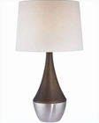 Lite Source in PS Kansas Table Lamp LS-20982PS-DWAL