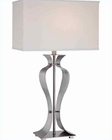 Lite Source in PS Metal Body Gada Table Lamp LS-21243PS